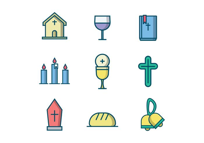 Free Christian Vector Icon.