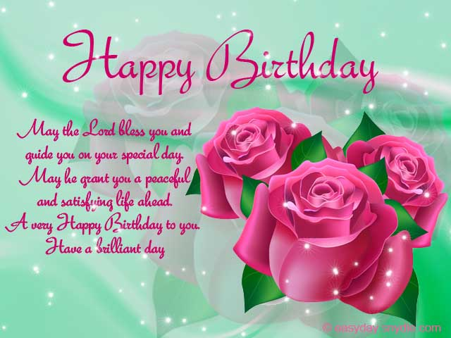 Free Christian Happy Birthday Clipart 111px Image 10