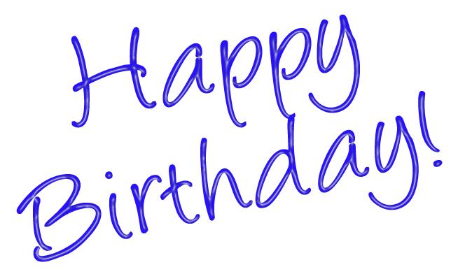 Happy Birthday Clip Art.