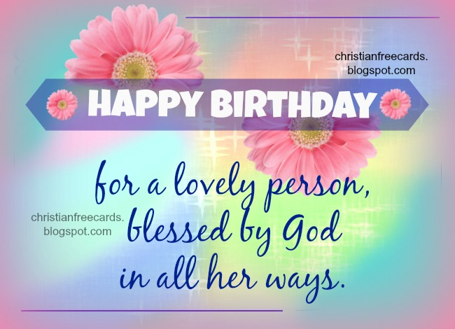 Free Christian Happy Birthday Clipart.