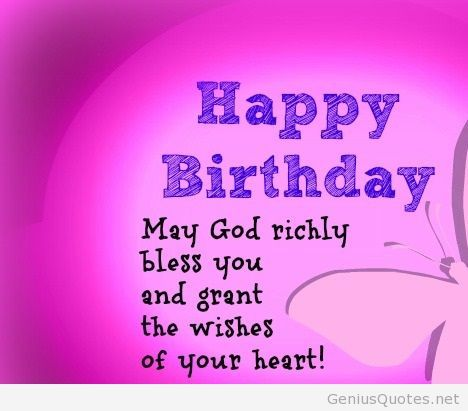 Free Christian Happy Birthday Clipart Images.