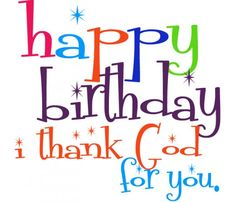 Free Christian Happy Birthday Clipart.