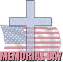 Free christian memorial day clip art.