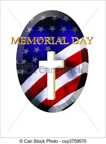 Memorial Day Christian Clipart.