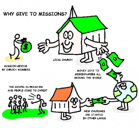 Missions Clip Art Image.