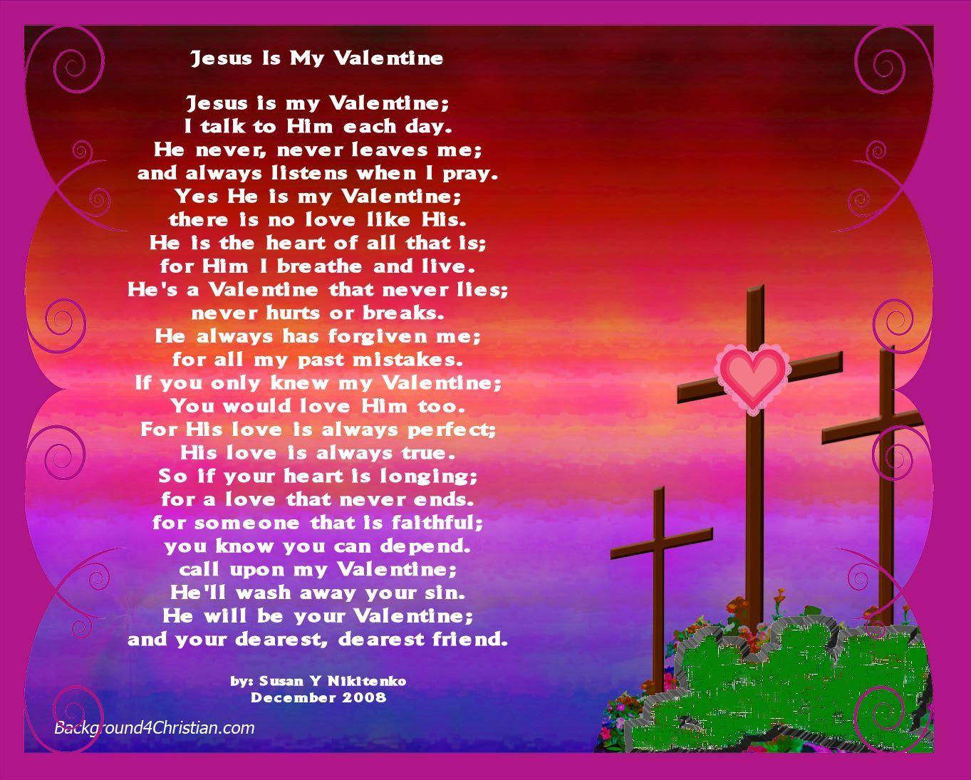 valentine's day poem from God.