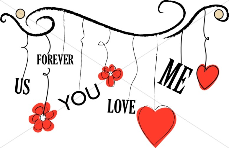 Christian Valentine's Day Clipart, Valentine's Day Images.