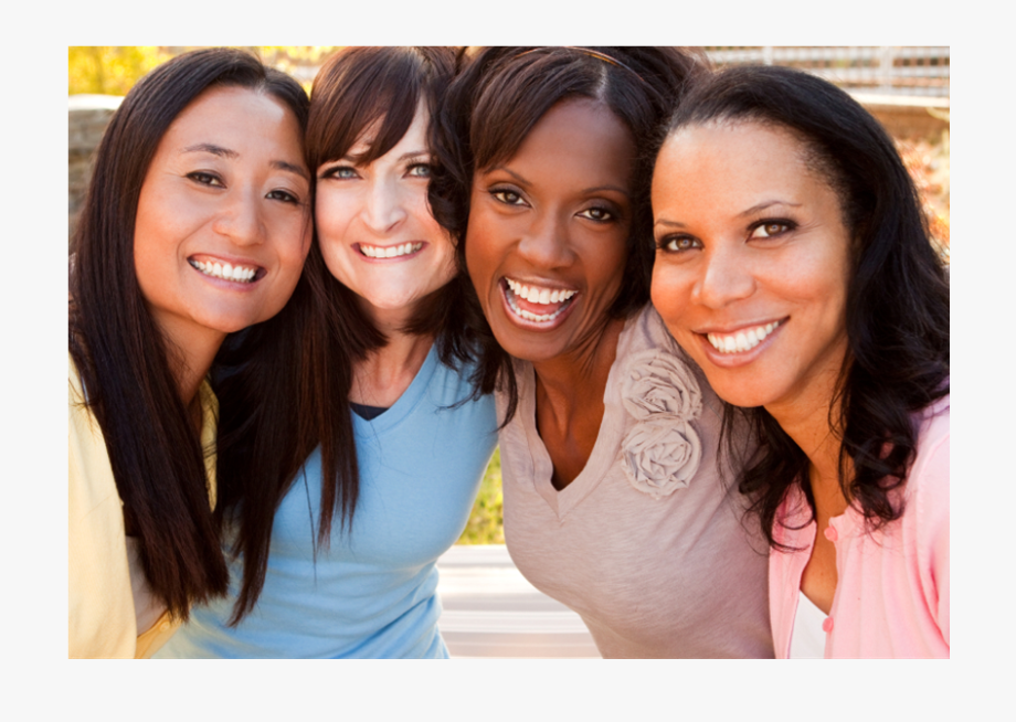 Diverse Christian Woman Clipart.