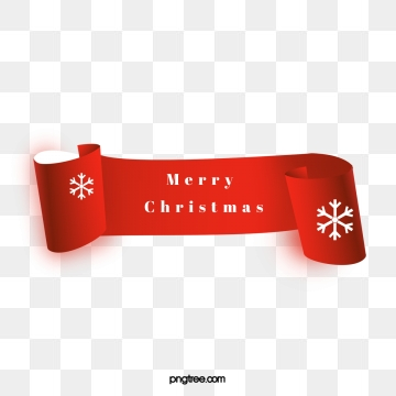 Merry Christmas Banner Png, Vector, PSD, and Clipart With.