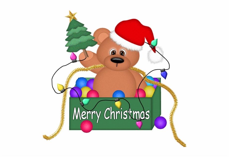 Christmas Bear Clipart.