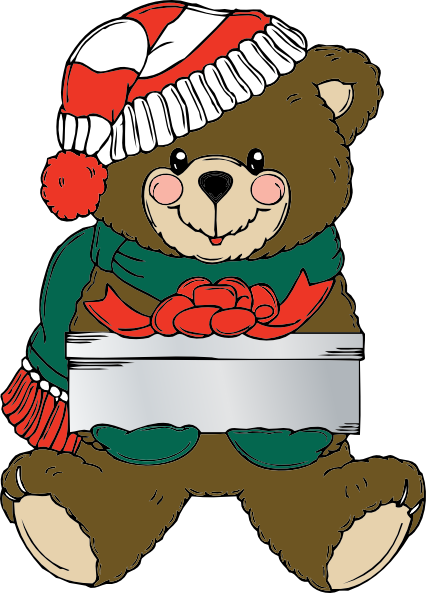 Free Christmas Bear Clipart, Download Free Clip Art, Free Clip Art.