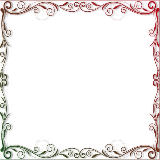 Free Christmas Border Clipart.
