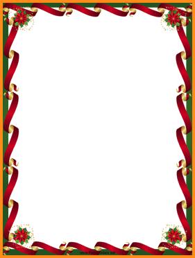 microsoft christmas borders.