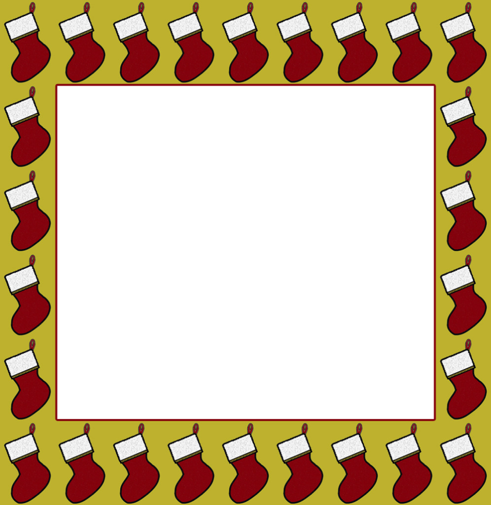 Free Clipart Christmas Border Frame.