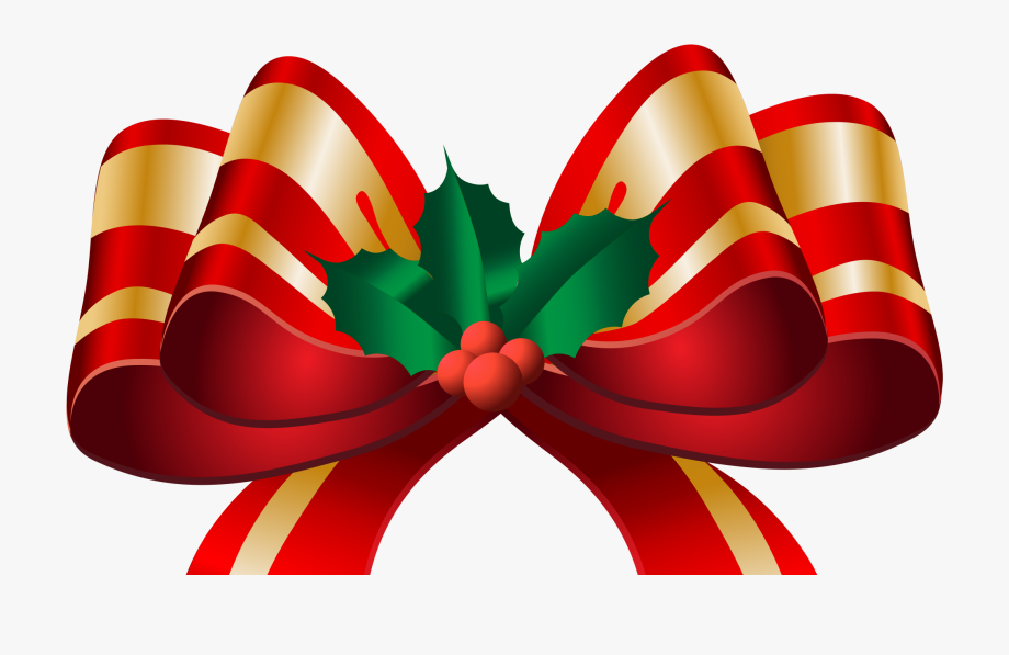 Christmas Bow Clipart Png Clipground Christmas Decorations.