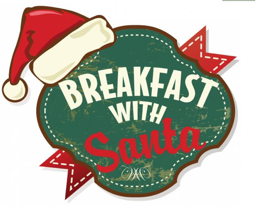 Download a Breakfast with Santa logo you can use for your flyers.