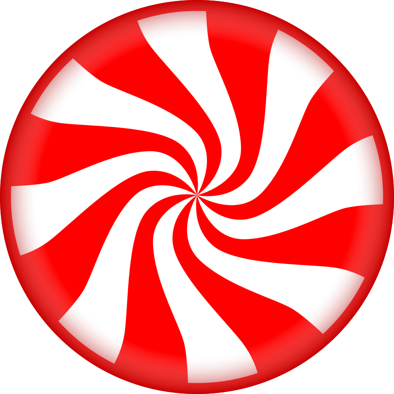 Free Clipart: Peppermint Candy.