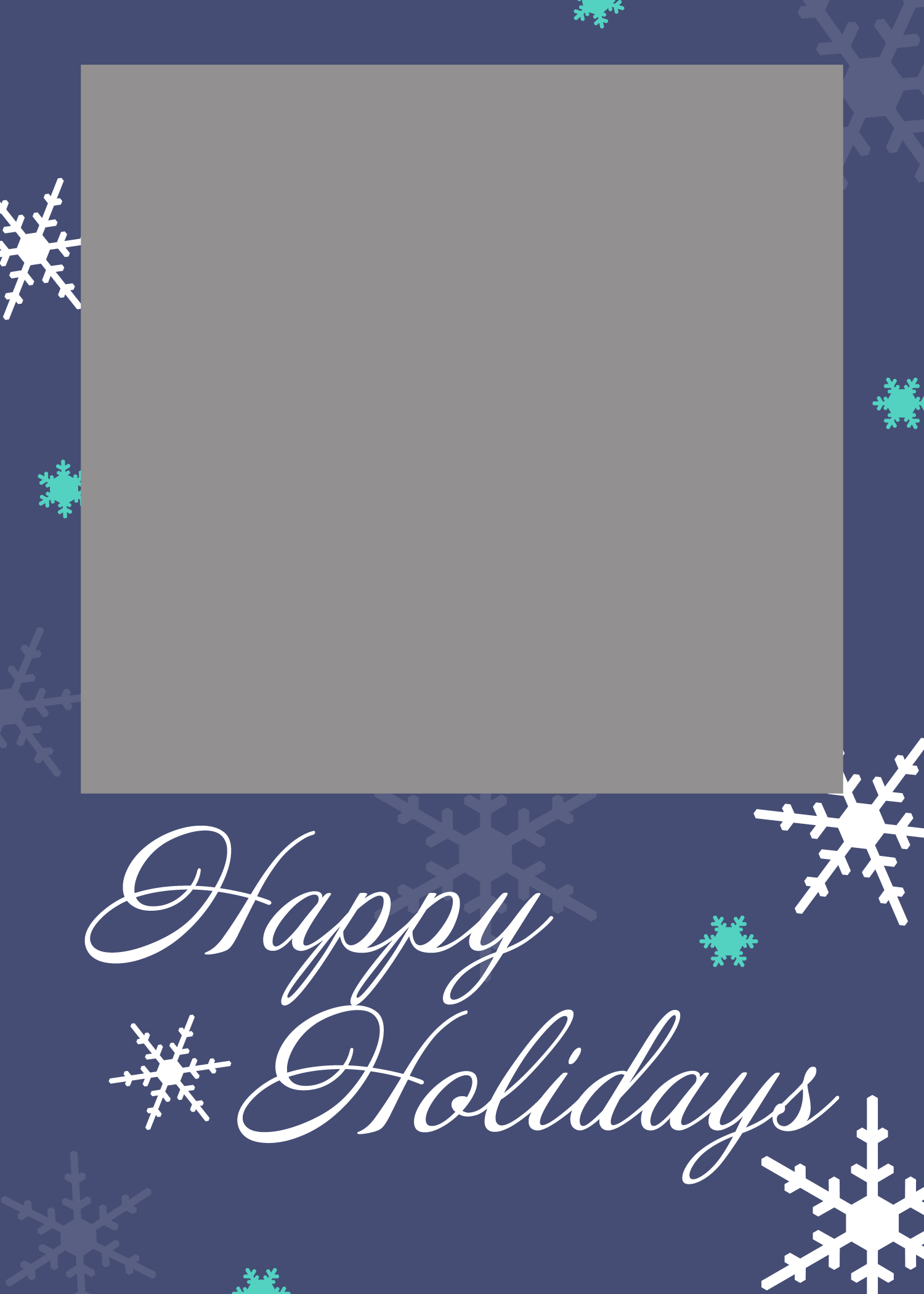Sample, Example & Format Templates: Free Christmas Card Templates.