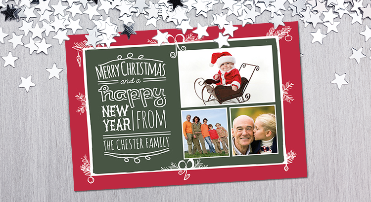 Download Free Photo Christmas Card Templates.
