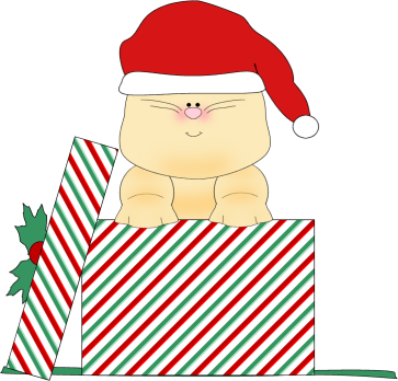 Clipart Christmas Cat.