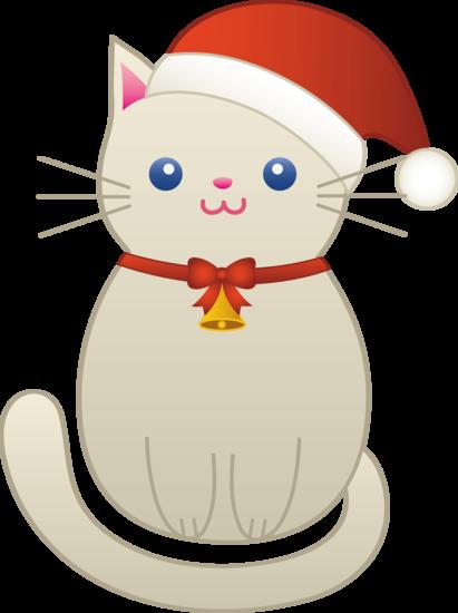 Christmas Kitty Cat.