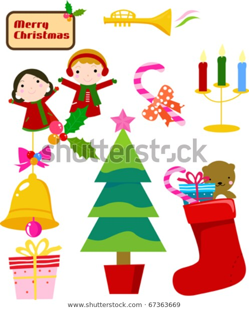 Christmas Celebration Stock Vector (Royalty Free) 67363669.