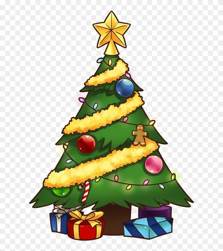 Christmas Tree Free To Use Clip Art.