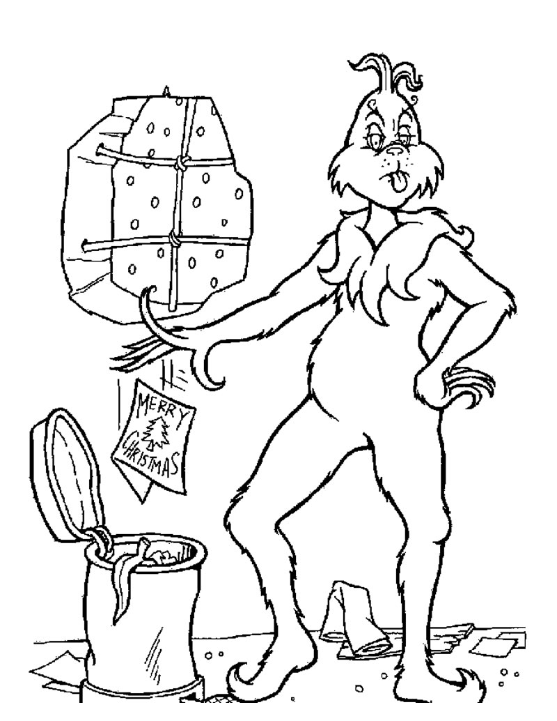 Free Fun Christmas Coloring Pages.