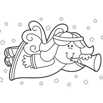 Christmas Coloring Pages, Free Christmas Coloring Pages for Kids.