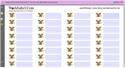 How To Make Personalized Mailing Labels: Tutorial : TipNut.com.