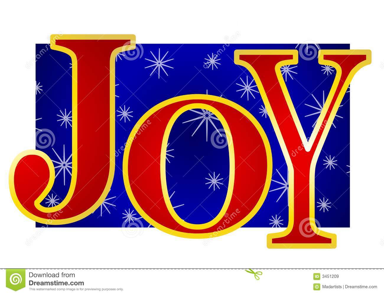 Christmas Joy Banner Royalty Free Stock Images.