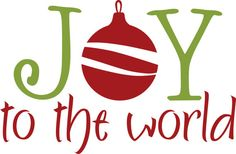 Free Joy to The World Clipart (36+).