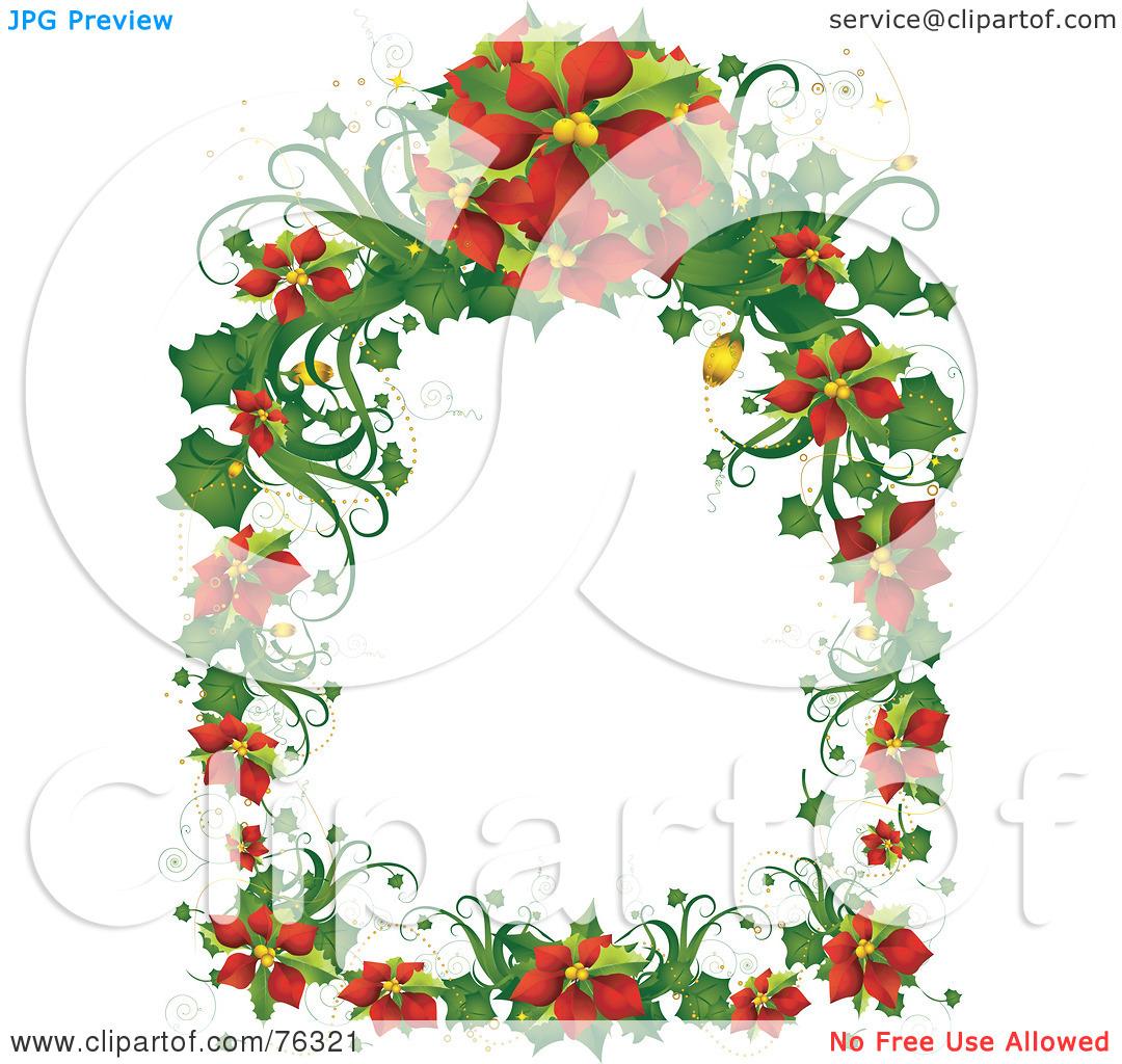 free christmas clip art photo frames - Clipground