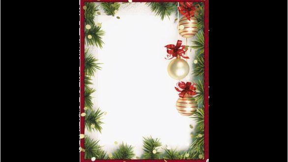 Christmas Border Free Editable Borders Clipart Templates Clip Art.