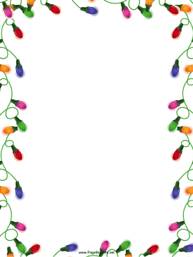 free christmas clipart borders for word - Clipground