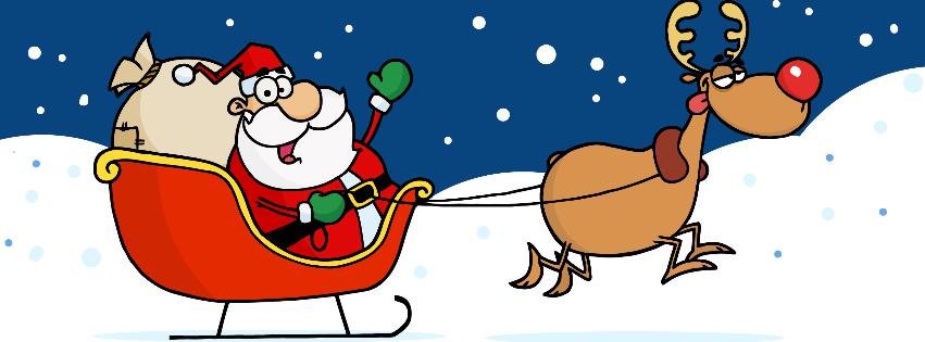 Christmas Facebook Timeline Cover.