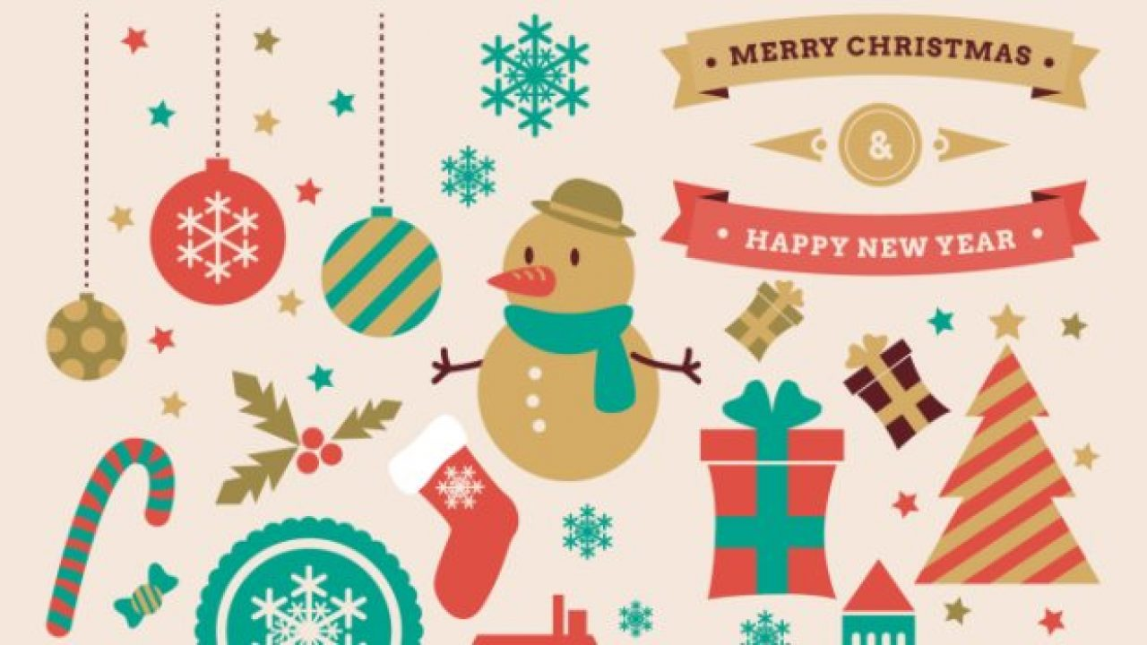 30+ Free Christmas Vector Graphics & Party Flyer Templates.
