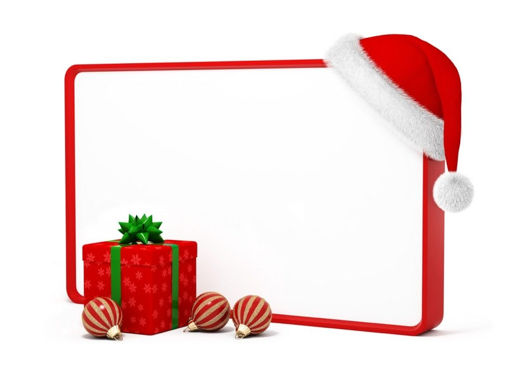 Christmas Borders And Frames Clipart.