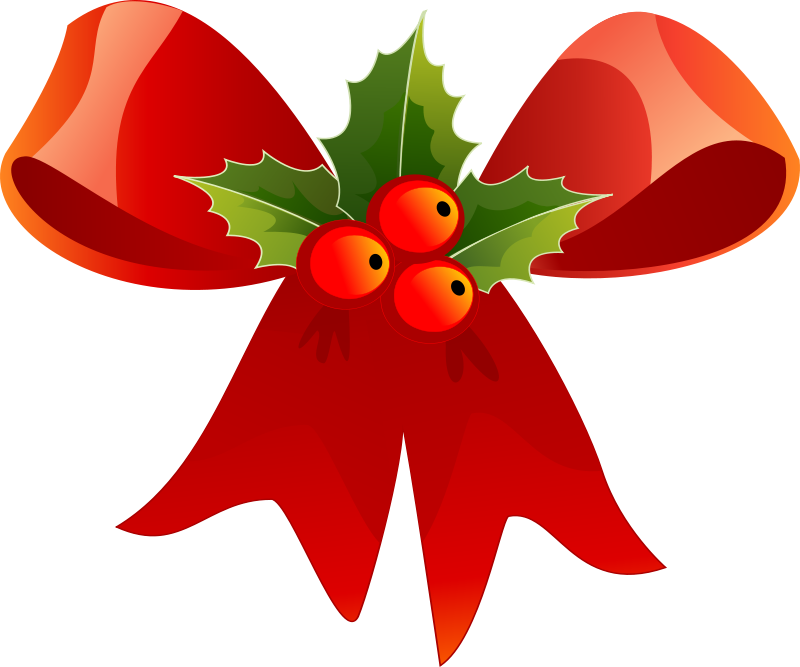 Free christmas clip art for mailing labels.
