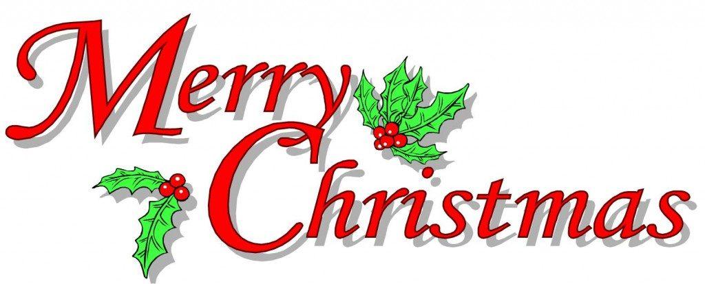 Christmas Clip Art Word.