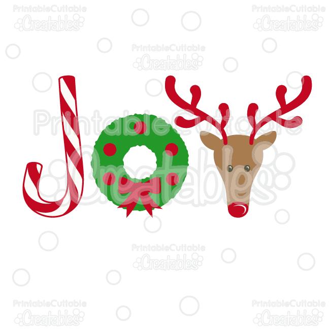 Christmas Joy Clipart.