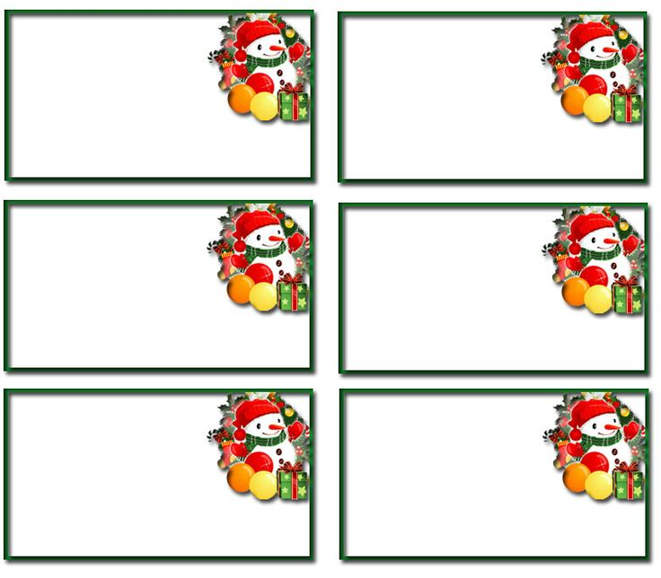 free christmas clipart name tags clipground