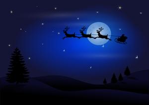 1026 free christmas clip art santa reindeer.