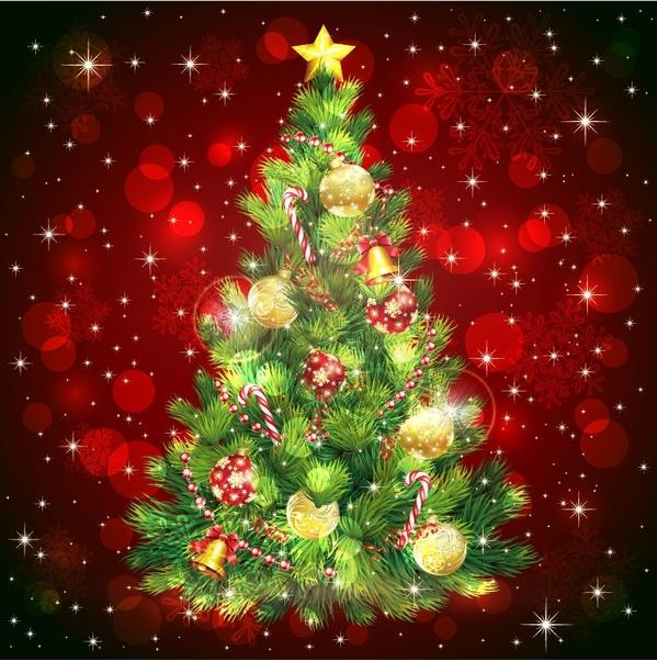 Merry Christmas Clip Art : Free Christmas Tree Clipart for 2016.