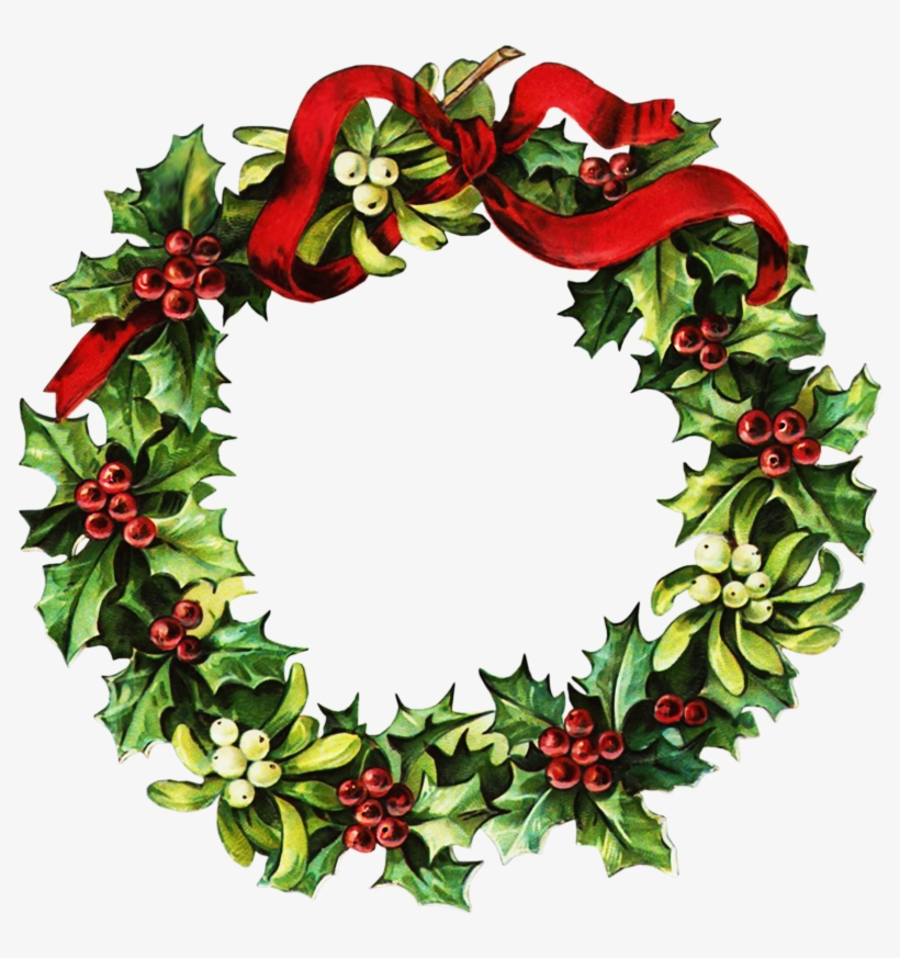 Clipart Einladung Christmas Wreath Clip Art Wreaths.