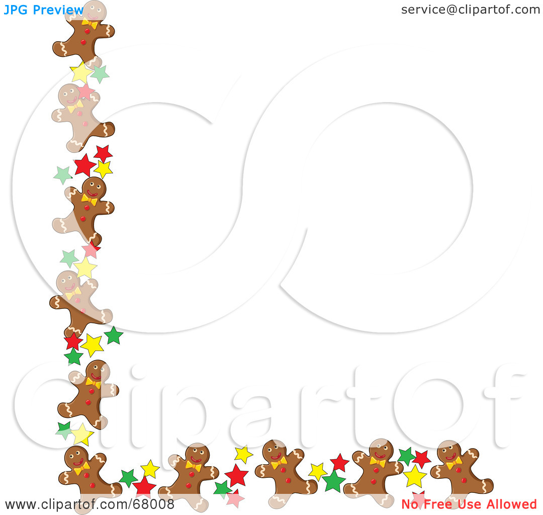 Free download Gingerbread Cookie Border Clip Art [1080x1024] for.
