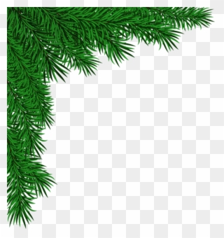 Free PNG Christmas Corner Border Free Clip Art Download.