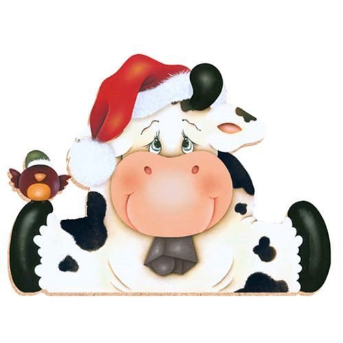 Free Christmas Cow Cliparts, Download Free Clip Art, Free Clip Art.