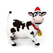 Free Cow Christmas Cliparts, Download Free Clip Art, Free Clip Art.