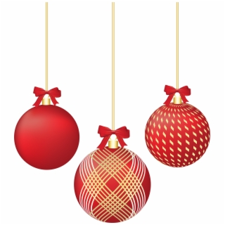 Christmas Decorations PNG Images.